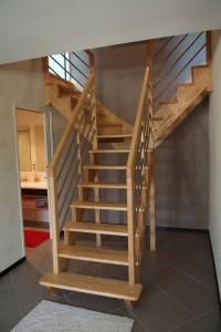 Escalier loft st gildas